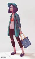 cloth study by MaromiSagi