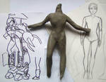 girl wearing robot W.I.P. 3 by lussybussy