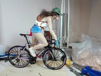 Bellezza in bicicletta (W.I.P.) by lussybussy