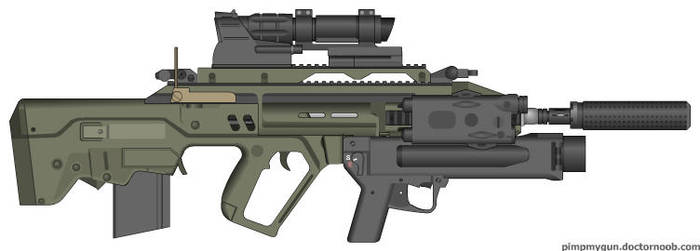AR-20 EROS by LtCWest