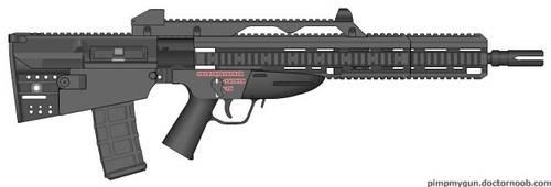 Bullpup Concept Rifle by LtCWest