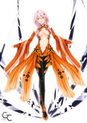 Inori Yuzuriha fanart by Ku-On