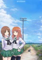 Girl Und Panzer by Ku-On