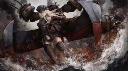 Bismarck by Ku-On