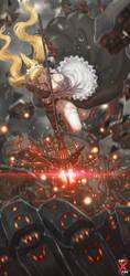 Maid Vs Robot !!! by Ku-On