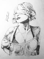 Woman from late 80 by BigStar6207