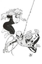 Spider-Man / Black Cat by DrewGeraci