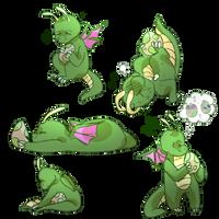 Dragonite by soarielle