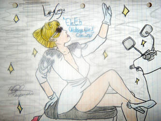 Lady Gaga Eh Eh by SailorMoon190