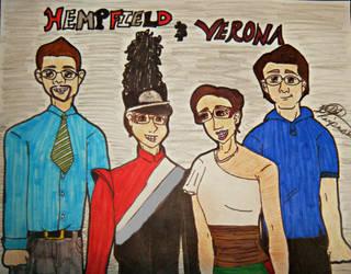 If Hempfield HS Meet Verona HS by SailorMoon190
