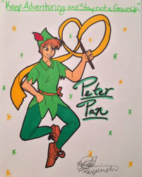Peter Pan by SailorMoon190