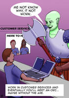 Computer Support Troubles by rcdg