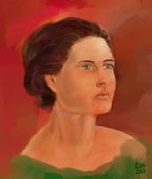 Portrait Experiment by rcdg