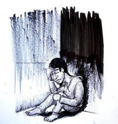 Inktober (Day 31) Isolated In The Abyss by ReggieJWorkshop