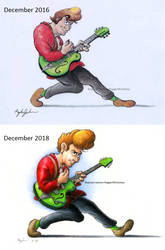 Draw It Again (Setzer) by ReggieJWorkshop