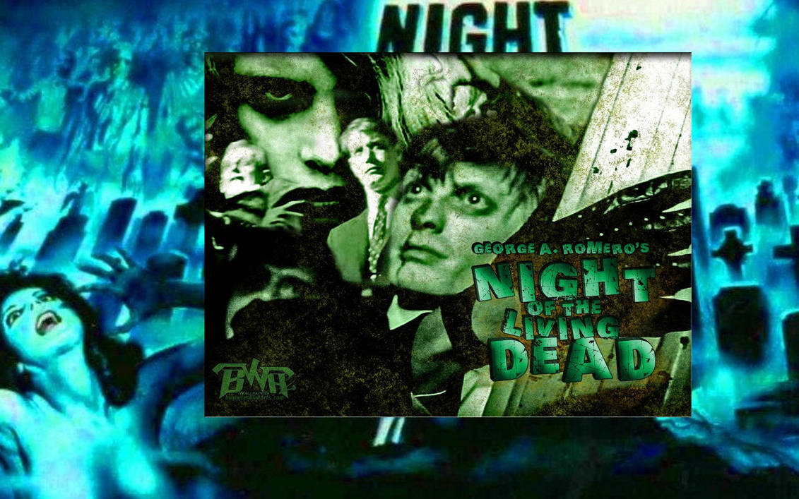 Night Of The Living Dead Wallpaper 2 By Weissdrum On Deviantart