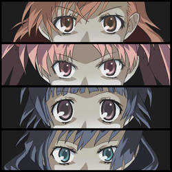 Railgun - Person's Summoning Eyes by makototendou