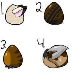 egg adoptablesCLOSED by mushratheenterran