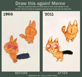 Draw this again Meme - Jollyversion by Kritzelkrams