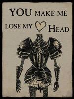 Headless Valentine by Kritzelkrams