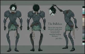 Dullahan Character Sheet by Kritzelkrams