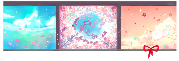 [20 hrs until release!]Preview | Windows of Spring by ViPOP