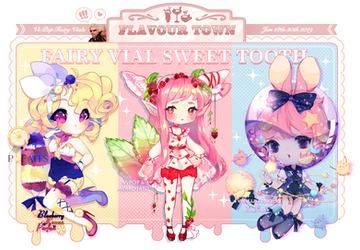 [2 OPEN!] Flavourtown Sweet Tooth | Fairy Vials by ViPOP