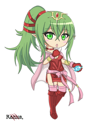 Tiki Chibi - Fire Emblem Awakening by raptorthekiller