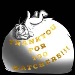 Woah, 100 watchers! by Spazknot