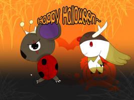 DWC - Happy Halloween by Kawaii-Nekochara