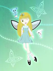 Fantasy of Fairy - For HaleySerenitySakura by Kawaii-Nekochara