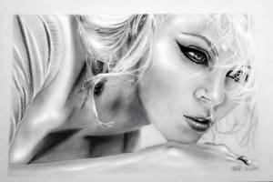 Charlize Theron by S3lene