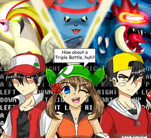 Completed! Twitch Plays Pokemon Fanart by NoPenNameGirl