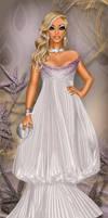 Purple and White Elegance by divachix
