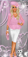Pink Uptown Girl! by divachix