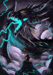 Lightning Dragon by SkoglundP