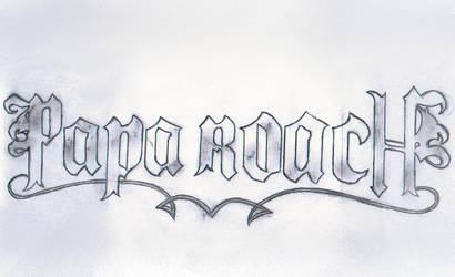 Papa Roach by bloody-poet