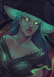 Halloween Witch by Kytru