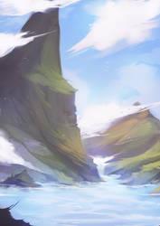 Landscape 01 by Kytru