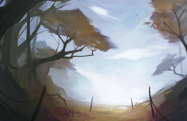 Landscape 02 by Kytru