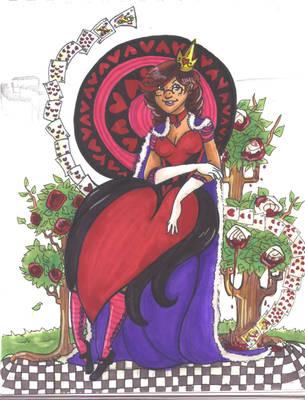 Queen::Of::Hearts by CrayolaSquirrel