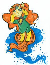 My Little Phoenix by CrayolaSquirrel