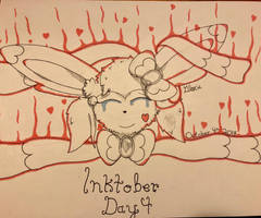 Inktober Day 4: Spell by Glacie-the-Glaceon