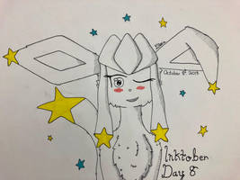 Inktober Day 8: Stars by Glacie-the-Glaceon