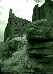 St Michaels Mount Infrared V by Quoth-Raven