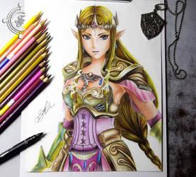 princess Zelda by FredGuerazzi