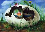 The Egg, Das Ei by StephanusEmbricanus