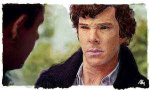 Somewhat Confused - Sherlock by NicolaMichelle