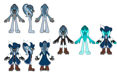 Hadal the Seal Reference Sheet by DrHerr