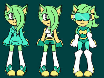 Astral the Hedgehog Concept Art by DrHerr
